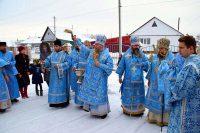 Епископ Филипп принял участие в служении Литургии в день престольного праздника в Соборном храме г. Барабинска