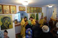 Архиерейская Литургия в с. Хорошем Карасукского района