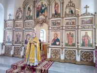 Божественная литургия в Мироновке
