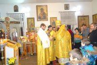 Архиерейское служение в престольный праздник в р. п. Ордынское (видео)