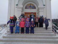 Детская экскурсия в собор в честь Живоначальной Троицы р. п. Ордынское