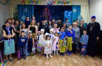 Встреча епископа Филиппа с детьми на праздник  Рождества в детском центре «Созвездие»