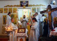 Архиерейское служение в праздник Обрезания Господня и  свт. Василия Великого в  Ордынске
