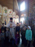 Рождество Христово в с. Багане