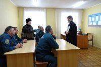 Поздравление пожарных Ордынского района с Новым годом