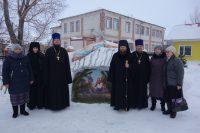 Архиерейское Рождественское богослужение в престольный праздник в Кочках