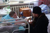 Рождество Христово в Обском интернате у детей-инвалидов