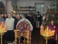 Рождественское богослужение в Доволенском храме
