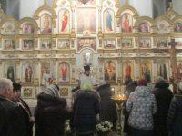 Празднование Крещения Господня в ордынском соборе