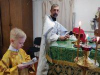 Рождество и Крещение Христово в храме во имя прп.Сергия Радонежского в р.п. Краснозерское