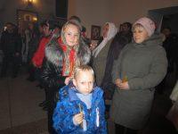 Празднование Рождества Христова в Ордынском соборе