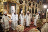Епископ Филипп принял участие в первом богослужении  митрополита Никодима  на новосибирской кафедре
