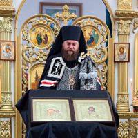 Чин прощения в Кафедральном соборе г. Карасука