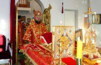 Литургия в день первого и второго обретения главы Иоанна Предтечи в г. Карасуке