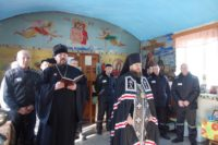 В Великий пост епископ Филипп встретился с заключенными ИК №15 с. Табулги