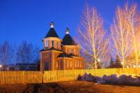 Завершаются работы по возведению православного храма в с. Довольном