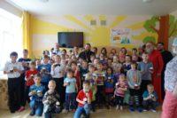 Епископ Филипп поздравил детей туберкулезного санатория с Пасхой Христовой