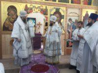 Глава Новосибирской митрополии совершил архипастырский визит в Карасукскую епархию