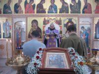 Вход Господень в Иерусалим в новоосвященном храме c. Довольного