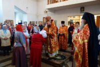 Посвящение сестер милосердия в Сестричество святителя Луки г. Карасука