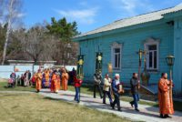 Дети воскресной школы Иоанно-Предтеченского мужского монастыря г. Новосибирска  посетили храмы в Ордынске (видео)