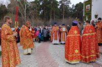Архиерейское служение на Антипасху в р. п. Ордынское (видео)