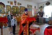 Молебен с акафистом апостолу и евангелисту Марку в Никольском храме р.п. Ордынское