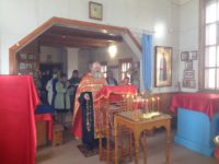 Благодарственный молебен о даровании Богом Победы нашему народу над фашисткой Германией  в ордынском храме