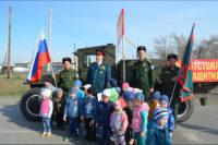 Ретро автопробег, посвященный 74-й годовщине Победы в Великой Отечественной войне, проходит в Карасукском районе