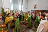 День Святой Троицы. Престольный праздник в соборе  в честь Живоначальной Троицы р. п. Ордынское (видео)