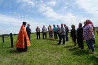 Установка поклонного креста в пос. Шайдурово