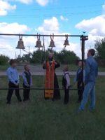 Таинство Крещения в с. Белом Карасукского района