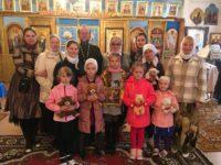 Паломническая поездка воспитанников воскресной школы при Кафедральном соборе г. Карасука в с. Половинное