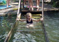 Паломническая поездка детей православного лагеря на Святой источник (видео)