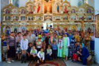 Закрытие Православного детского лагеря и Божественная литургия в Троицком соборе (видео)