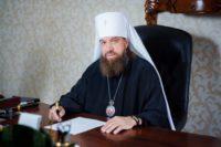 Митрополит Астраханский иКамызякский Никон поздравил Преосвященнейшего епископа Филиппа с днем тезоименитства