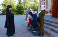 Архиерейская литургия в г. Карасуке
