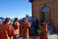 Архиерейская Литургия в день престольного праздника в храме с. Мироновки Баганского района (видео)