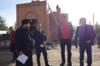Строительство нового храма в г. Карасуке