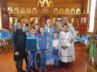 Молебен на начало учебного года в с. Ивановке