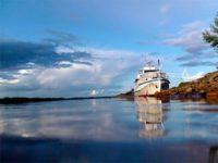 Закончилась очередная ежегодная миссия Корабля-Церкви по Оби