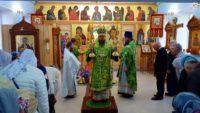 Архиерейский визит в Доволенский район (видео)