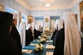 ЖУРНАЛЫ заседания Священного Синода от 7 октября 2019 года