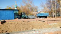 Строительство храма в честь Казанской иконы Пресвятой Богородицы в с. Колыбельском Краснозерского района