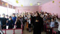 Встреча епископа Филиппа с детьми в Ордынской школе-интернате