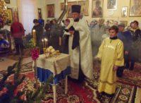Праздник Рождества Христова в с. Половинном Краснозерского района