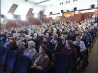 Настоятель Краснозерского прихода принял участие в собрании представителей трудовых коллективов и общественности Краснозерского района