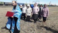 Крестный ход от эпидемии коронавируса в Карасукском районе
