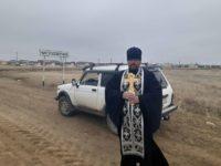 Освящение р. п. Чистоозерное со всех сторон света с чтением молитв против вредоносного поветрия