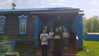 Завершился традиционный Епархиальный крестный ход со святынями по приходам 9 районов Карасукской епархии